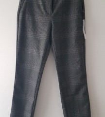 Zara karirane hlače XS