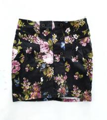 Floral traper suknja/sada 25kn