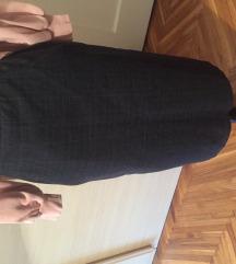 Boss siva suknja sa elastinom vuna xs