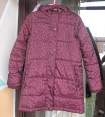 Zimska jakna vel.122/128  (bordo)