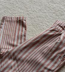 Prugaste ljetne hlače