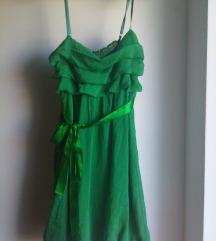 Zelena ljetna haljinica