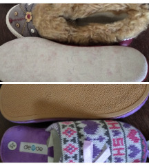 Nove tople papuče 35