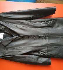 Ćosić Leather kaput/mantil od prave koze