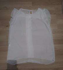 Bijela bluza bez rukava, L veličina