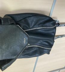 REPLAY crni ruksak sa zatvaračima