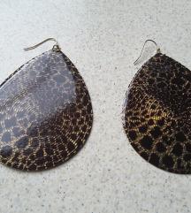 Leopard naušnice