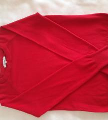 crveni pulover
