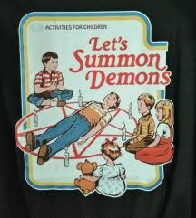 Nova crna majica Let's Summon Demons