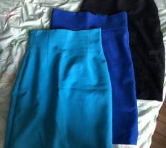 LOT Tri suknje za posao