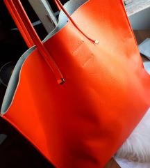 VelikaBERSHKA shooper bag/torba neon