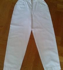 Nove Jobis mom fit  bijele hlače 40