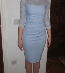 Svijetlo plava haljina