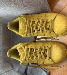 Adidas shell superstar zute tenisice