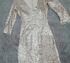 ✨Zlatna šljokice haljina ✨