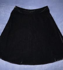 Nova baršunasta suknja