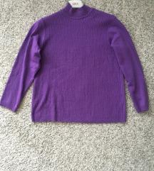 Predivan Kao nov ljubičasti pulover vel L