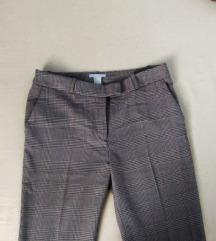 H&M karirane poslovne hlače
