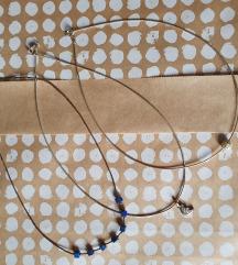 3 srebrne ogrlice