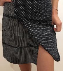 Šivana mini suknja