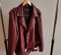 ❗% 150 kn %❗ Zara bordo kožna jakna