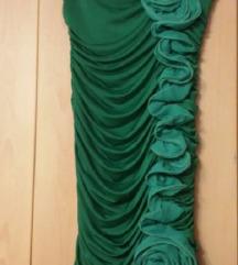Twister Zelena svečana haljina vel S nova