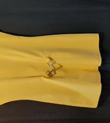 Žuta haljinica-tunika