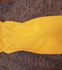 Zara haljina žuta