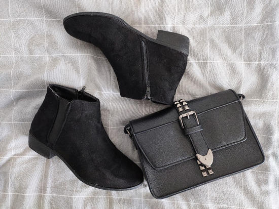 🖤 Asos gležnjače + torbica GRATIS 🖤