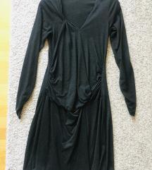 Mamalicous midi tamnosiva haljina vel  S
