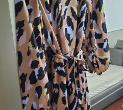 Tigrasta animal print haljina%