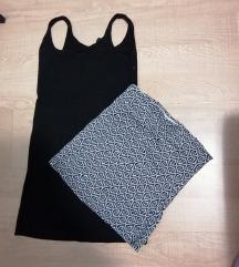 Pamučna haljina i top (pt.uklj)
