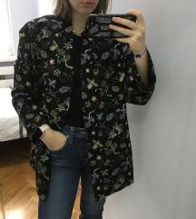 H&M šareni blazer/jakna oversize S-L