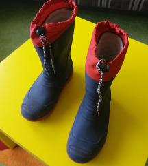 Tople gumene čizme br. 34