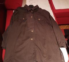 Oversized vesta tunika shirt