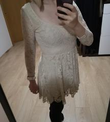 Bež Zara haljina