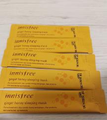 5x Innisfree Ginger Honey Sleeping Mask - lot