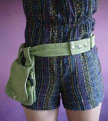 Bisaga zelena (torba za nošenje oko struka)