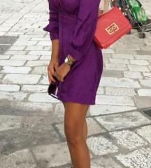 Zara haljina od žakarda