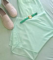 Dugačka tirkizna suknja hm diadema