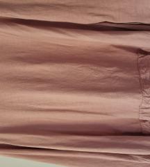 Majica prljavo roze boje dugi rukav