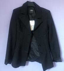 Zara crni korzet sako XS