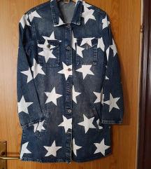 Dugačka traper jakna vel M/L
