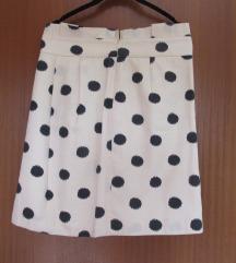 Tara Jarmon nova suknja na točkice  S