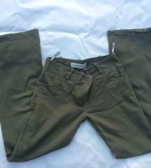 Maslinasto zelene hlače 36