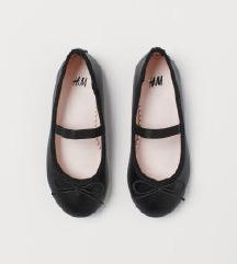 H&M balerinke crne 33🧚♀️(50 kn sa uklj.pt)