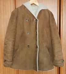 Smeđa jakna s kapuljačom, 38
