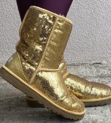 UGG cizme sa zlatnim ljuskicama 💛 SNIZENO%%