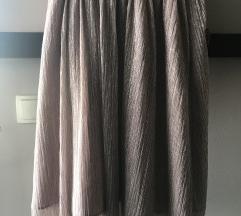 Zara haljina traperice suknje s