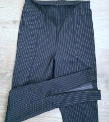 NOVO H&M poslovne hlače tamno plave